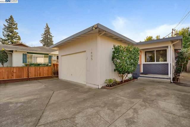 1405 Stanton St, Alameda, CA 94501 (#BE40934376) :: Schneider Estates