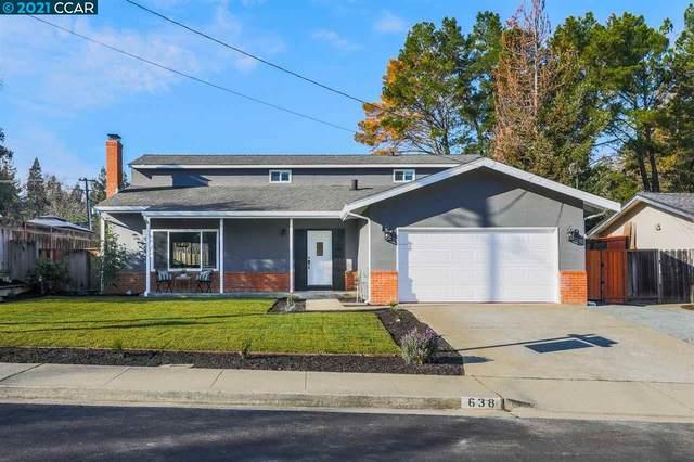 638 Sherree Dr, Martinez, CA 94553 (#CC40934214) :: Intero Real Estate