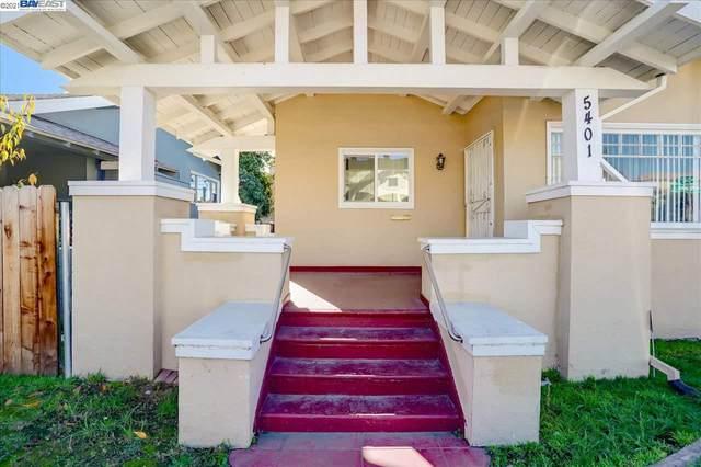 5401 Wadean Pl., Oakland, CA 94601 (#BE40934652) :: Real Estate Experts