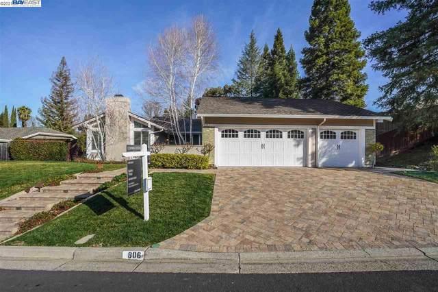 806 Highbridge Ln, Danville, CA 94526 (#BE40934702) :: Intero Real Estate