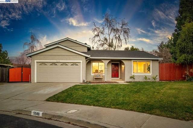 5548 Corte Del Cajon, Pleasanton, CA 94566 (#BE40934893) :: Intero Real Estate