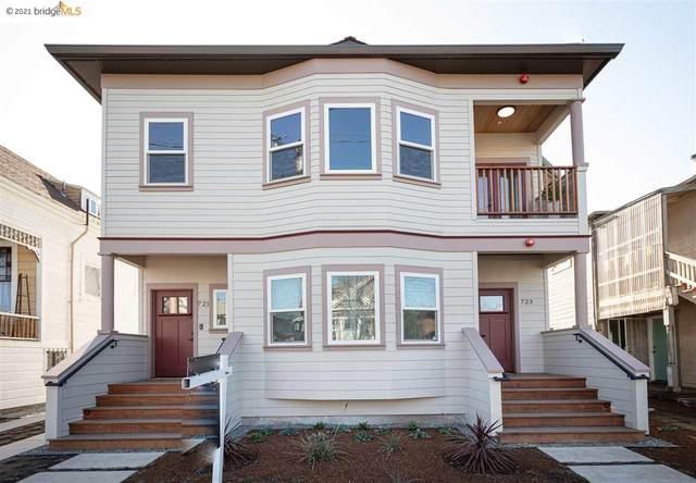 721 44Th St, Oakland, CA 94609 (#EB40935115) :: Intero Real Estate