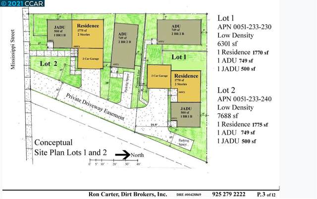 Mississippi St. Lot #2, Vallejo, CA 94590 (#CC40935326) :: Robert Balina | Synergize Realty