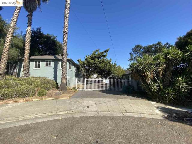 2382 Grande Vista Pl, Oakland, CA 94601 (#EB40933402) :: Schneider Estates