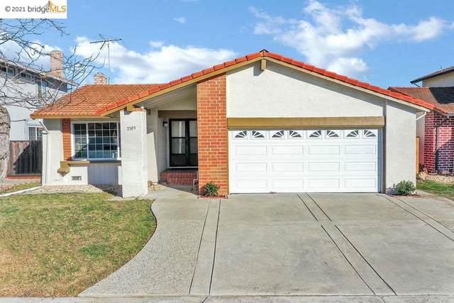 2509 Kirkwood Dr, Hayward, CA 94545 (#EB40935683) :: The Sean Cooper Real Estate Group