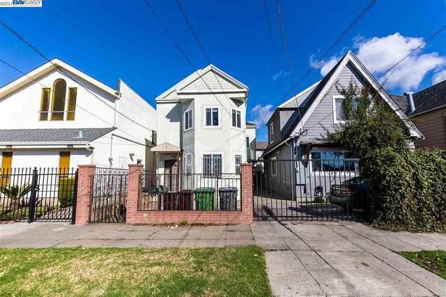 2418 E 15Th St, Oakland, CA 94601 (#BE40936035) :: Schneider Estates