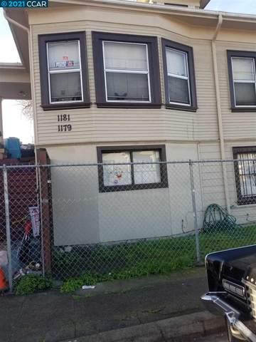 1181 34Th St, Oakland, CA 94608 (#CC40937754) :: Intero Real Estate