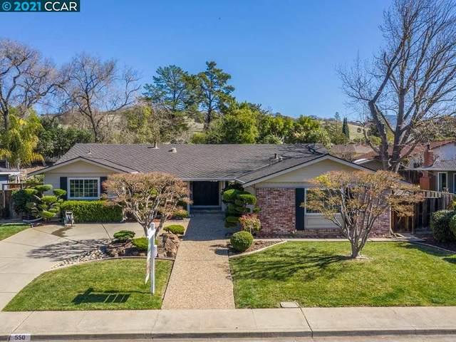 550 Rock Oak Rd, Walnut Creek, CA 94596 (#CC40939730) :: The Gilmartin Group