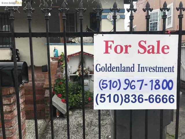 1432 24Th Ave, Oakland, CA 94601 (#EB40943254) :: RE/MAX Gold