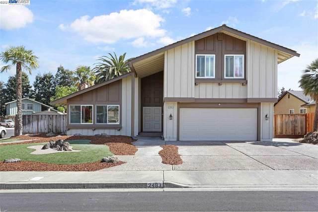 2483 Skylark Way, Pleasanton, CA 94566 (#BE40944521) :: Intero Real Estate