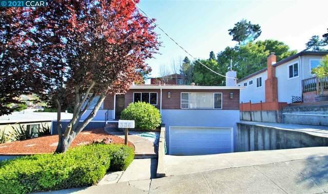 336 Shirley Vista St, El Sobrante, CA 94803 (#CC40944759) :: Strock Real Estate
