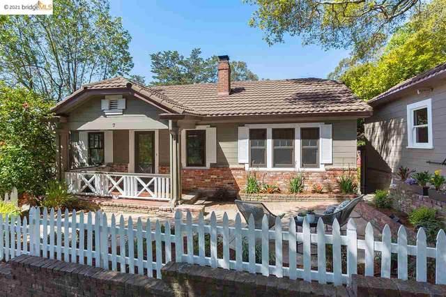 7 East Cir, Oakland, CA 94611 (#EB40943548) :: Intero Real Estate