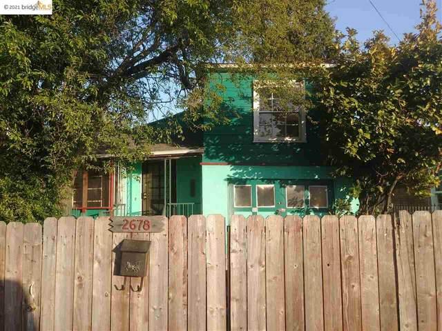 2678 63Rd Ave, Oakland, CA 94605 (#EB40945763) :: Intero Real Estate