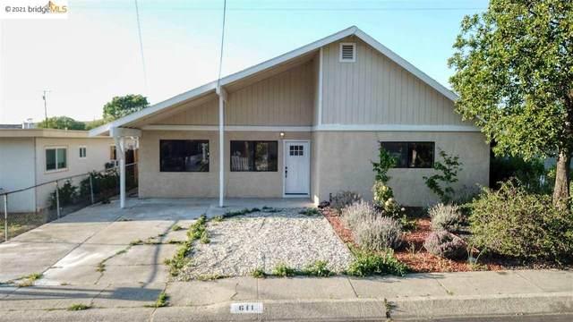 611 Michele Dr, Martinez, CA 94553 (#EB40946584) :: The Kulda Real Estate Group