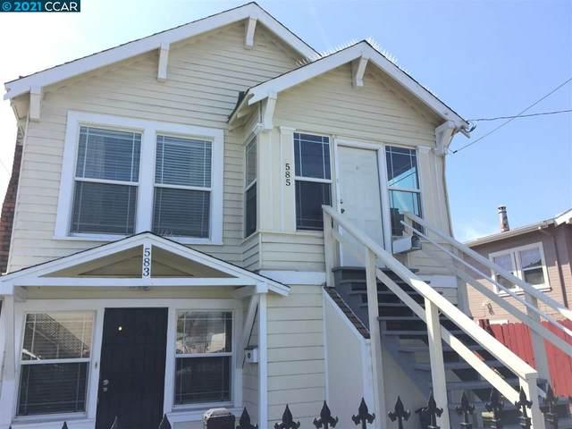 583 8Th St, Richmond, CA 94801 (#CC40947031) :: Intero Real Estate