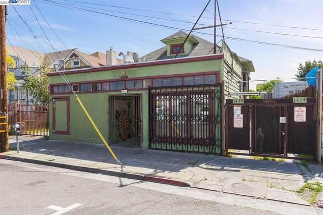 1414 34th Avenue, Oakland, CA 94601 (#BE40944005) :: Schneider Estates
