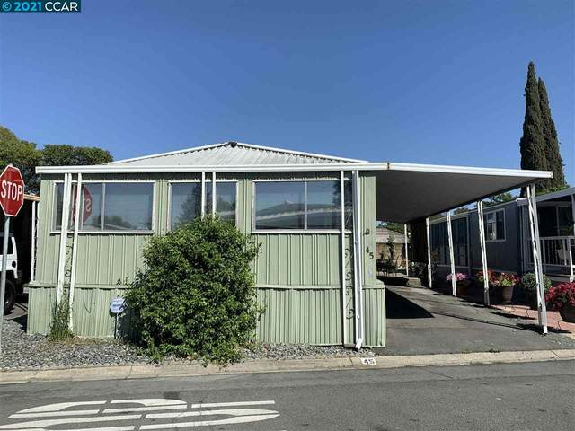 45 Adobe Drive, Concord, CA 94520 (#CC40948199) :: Intero Real Estate