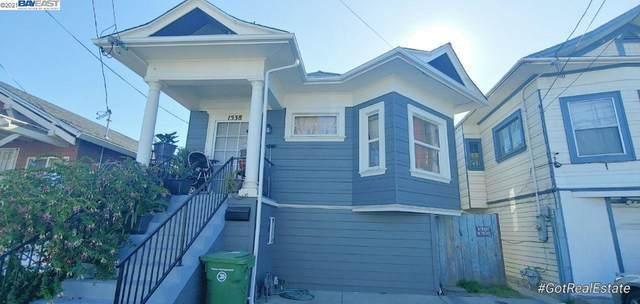 1538 50Th Ave, Oakland, CA 94601 (#BE40948472) :: Intero Real Estate