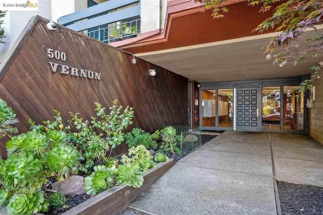 500 Vernon St 216, Oakland, CA 94610 (#EB40948543) :: The Kulda Real Estate Group