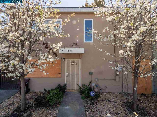 805 Apgar St, Oakland, CA 94608 (#CC40949031) :: Intero Real Estate
