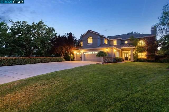 218 Castle Creek Pl, Alamo, CA 94507 (#CC40949783) :: Schneider Estates