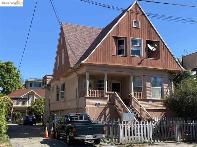 2137 Parker St, Berkeley, CA 94704 (#EB40951053) :: The Realty Society