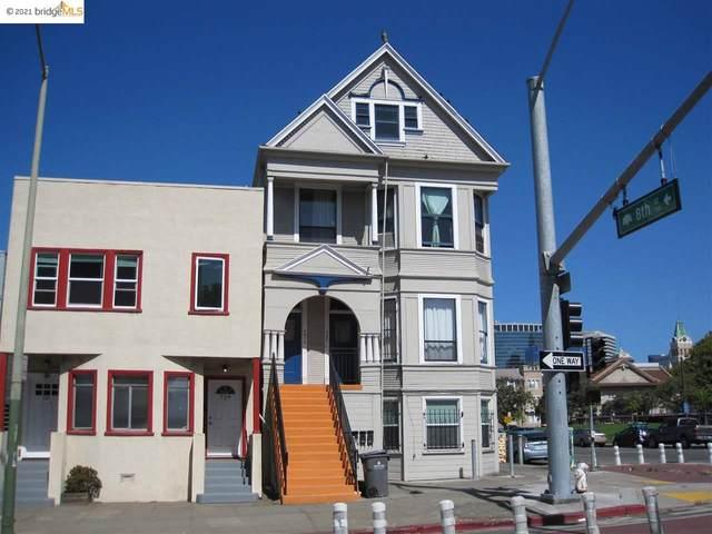733 Madison St, Oakland, CA 94607 (#EB40953184) :: The Gilmartin Group