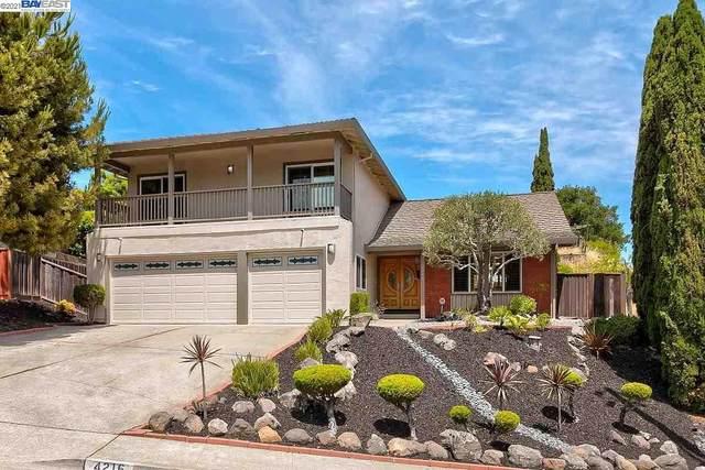 4216 Arcadian Drive, Castro Valley, CA 94546 (#BE40954685) :: The Realty Society