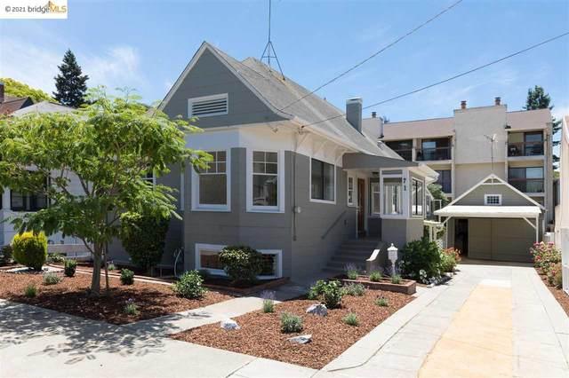 71 Rio Vista Ave, Oakland, CA 94611 (#EB40955159) :: The Realty Society