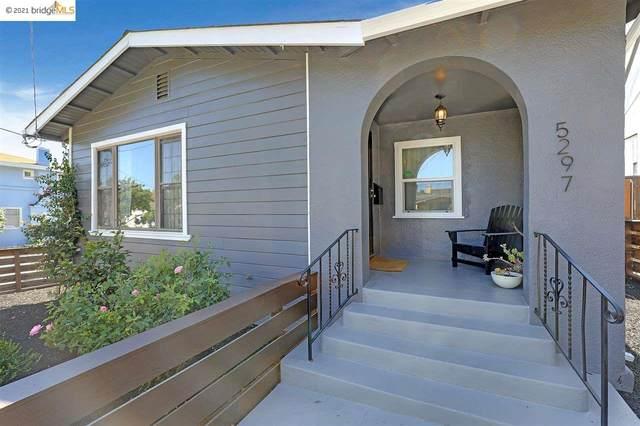 5297 Belvedere St, Oakland, CA 94601 (#EB40955199) :: Schneider Estates