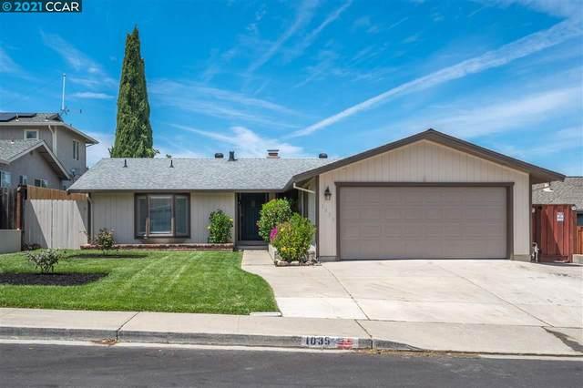1035 Marie Ave, Martinez, CA 94553 (#CC40955472) :: The Gilmartin Group