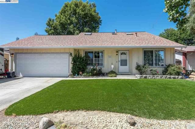 542 Covington Way, Livermore, CA 94551 (#BE40956007) :: The Realty Society