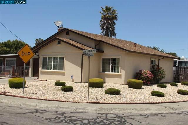 3561 Carlfield Street, El Sobrante, CA 94803 (#CC40956221) :: The Realty Society