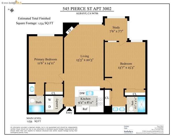 545 Pierce St 3002, Albany, CA 94706 (#EB40956853) :: Paymon Real Estate Group