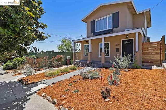 4839 Walnut St, Oakland, CA 94619 (#EB40957455) :: Real Estate Experts