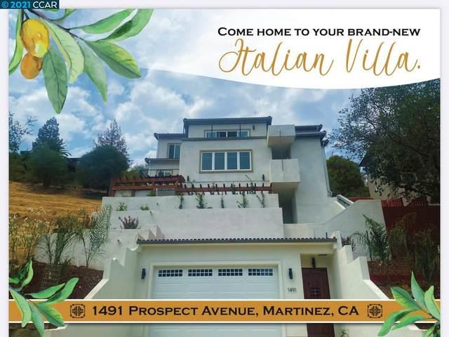 1491 Prospect Ave, Martinez, CA 94553 (#CC40958867) :: Robert Balina   Synergize Realty