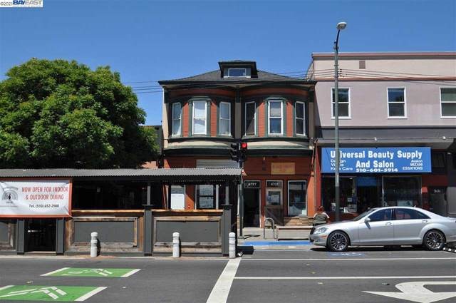 4725 Telegraph Ave, Oakland, CA 94609 (#BE40959323) :: The Goss Real Estate Group, Keller Williams Bay Area Estates