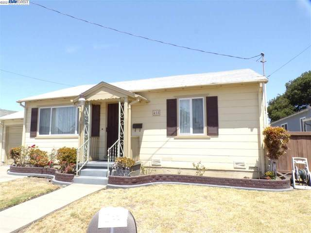 455 Olive Street, San Leandro, CA 94578 (#BE40959397) :: The Gilmartin Group
