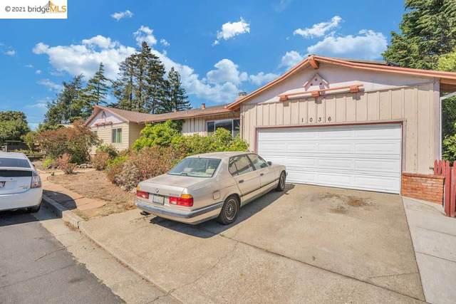 1036 Leneve, El Cerrito, CA 94530 (#EB40959475) :: Paymon Real Estate Group