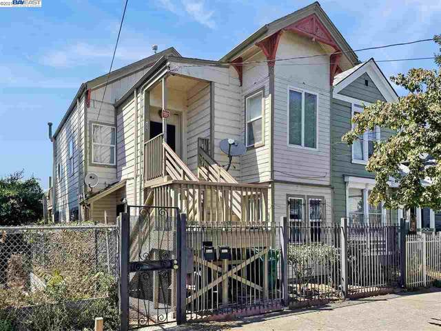 1019 Willow St, Oakland, CA 94607 (#BE40959560) :: The Realty Society