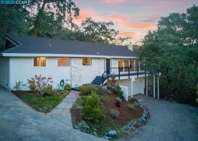 1055 Via Roble, Lafayette, CA 94549 (#CC40960082) :: The Kulda Real Estate Group