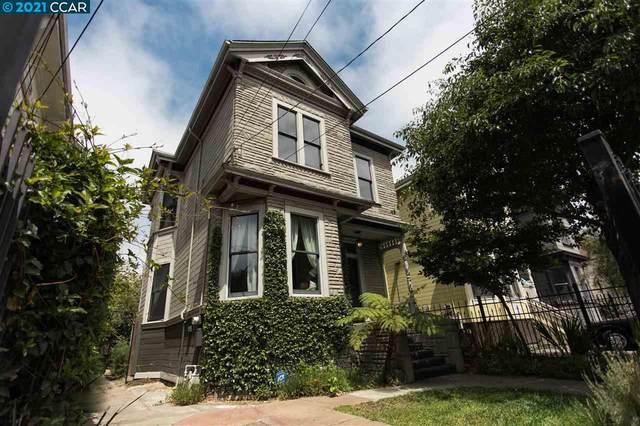 1103 Center St, Oakland, CA 94607 (#CC40960221) :: Schneider Estates