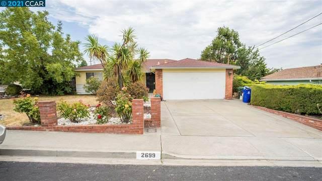 2699 Shamrock Dr, San Pablo, CA 94806 (#CC40960505) :: Real Estate Experts