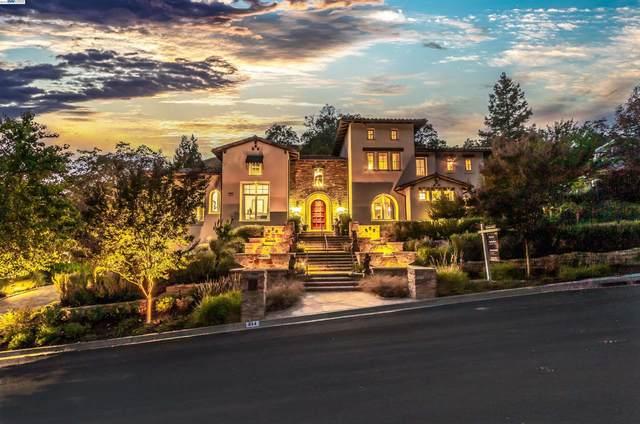 314 Las Quebradas, Alamo, CA 94507 (#BE40964785) :: The Kulda Real Estate Group