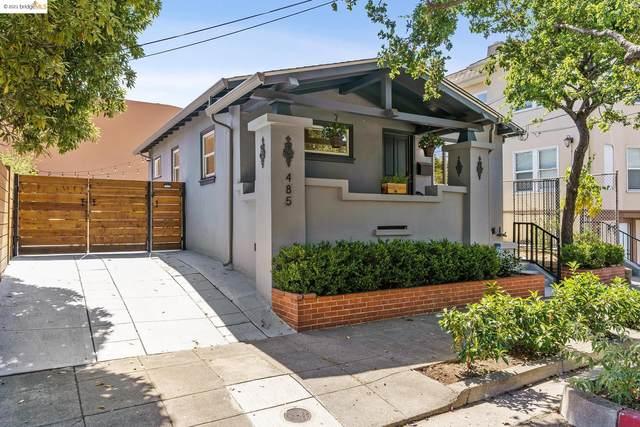485 55Th St, Oakland, CA 94609 (#EB40966677) :: The Goss Real Estate Group, Keller Williams Bay Area Estates