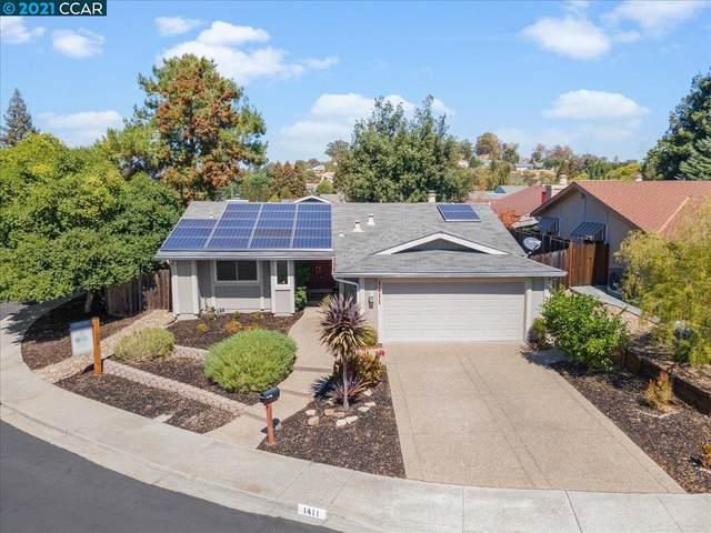 1411 Ridgewood Dr., Martinez, CA 94553 (#CC40966869) :: Schneider Estates