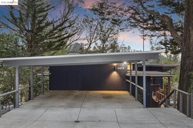6824 Paso Robles Dr, Oakland, CA 94611 (#EB40967495) :: Schneider Estates