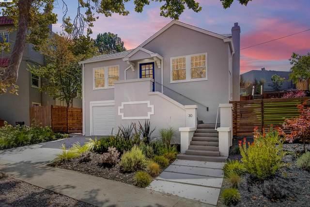 30 Jerome Ave, Piedmont, CA 94611 (#BE40967891) :: The Goss Real Estate Group, Keller Williams Bay Area Estates