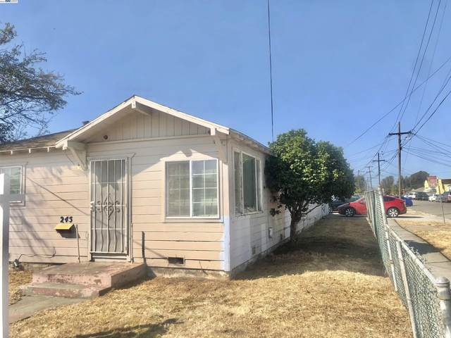 245 S 37Th St, Richmond, CA 94804 (#BE40969610) :: The Kulda Real Estate Group