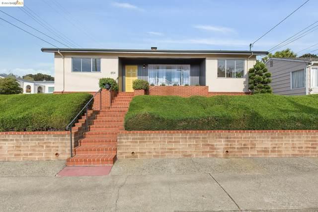 854 Pomona Ave, El Cerrito, CA 94530 (#EB40969814) :: The Kulda Real Estate Group